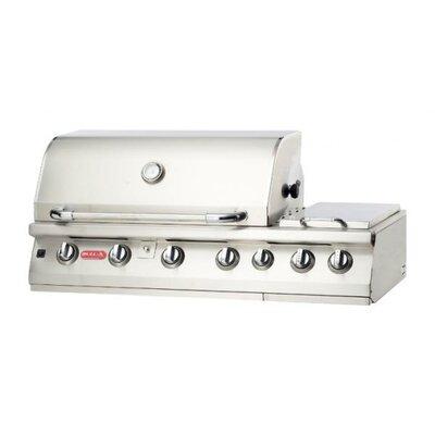 bull outdoor burner premium 7burner builtin propane gas grill with side burner u0026 reviews wayfair