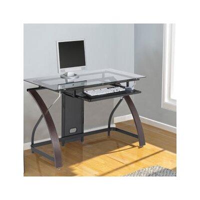 z line designs forrester computer desk reviews wayfair - Designer Writing Desk