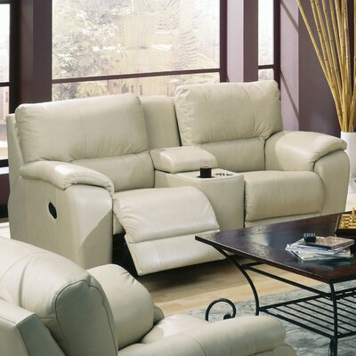 Palliser Furniture Shields Leather Reclining Sofa & Reviews | Wayfair