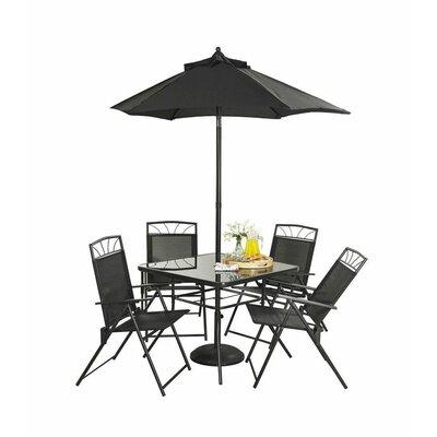 . SunTime Outdoor Living Memphis 6 Piece Dining Set   Reviews   Wayfair