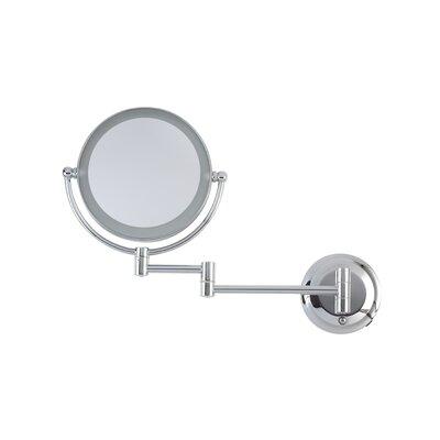 Wall Mount Mirror danielle creations dual power led wall mount mirror & reviews