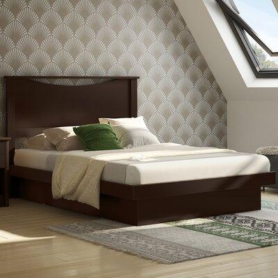 south shore fulldouble platform bed reviews wayfair - Full Platform Bed Frame