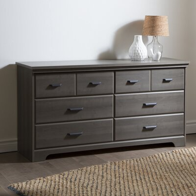 South Shore Versa Drawer Double Dresser Reviews Wayfair