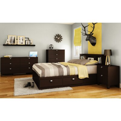 South Shore Karma Platform Customizable Bedroom Set U0026 Reviews | Wayfair