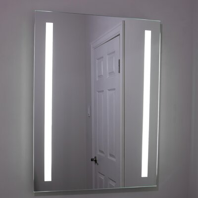 Erias Home Designs Lighted And Illuminated Beautiful Wall Mirror U0026 Reviews  | Wayfair