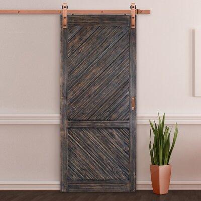 erias home designs bent strap flat track barn door hardware kit reviews wayfairca. Interior Design Ideas. Home Design Ideas