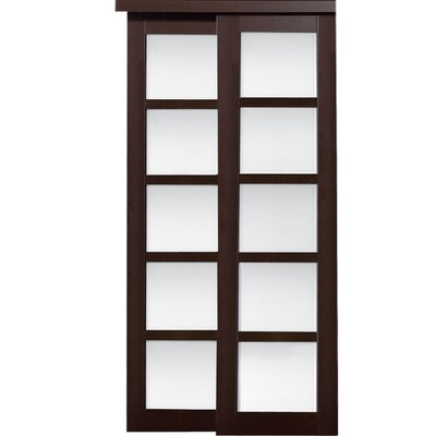 erias home designs baldarassario 2 panel painted sliding interior door reviews wayfair - Erias Home Designs