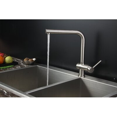 ruvati tirana 33 x 22 drop in double bowl kitchen sink reviews wayfair. Interior Design Ideas. Home Design Ideas
