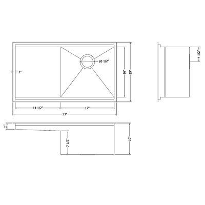 kitchen sink 33x19 - zitzat