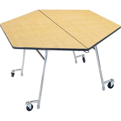 palmer hamilton hexagonal cafeteria table & reviews | wayfair