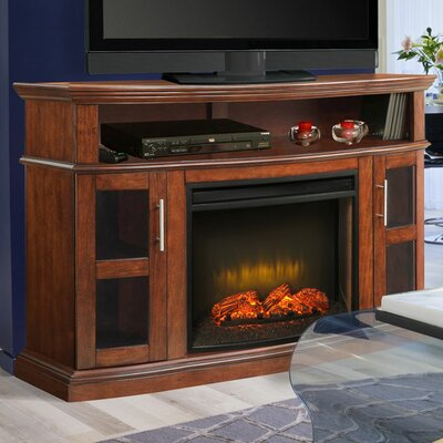 Pleasant Hearth Rochester Media Electric Fireplace