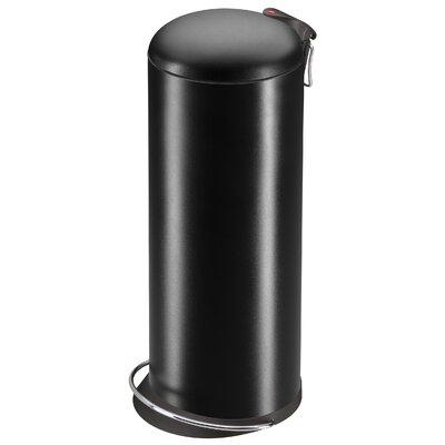 hailo usa inc trento 26 7 gallon step on steel trash can reviews wayfair. Black Bedroom Furniture Sets. Home Design Ideas