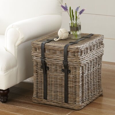 Birch Lane™ Jenkins Rattan Side Table U0026 Reviews | Wayfair