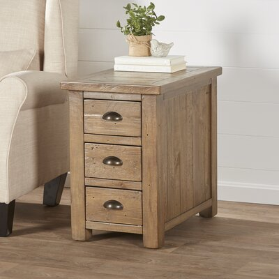 Birch Lane™ Seneca Chairside Table U0026 Reviews | Wayfair