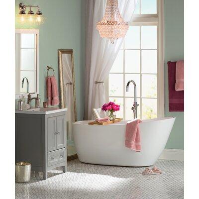 Kingston Brass Concord Single Handle Floor Mount Tub Faucet With Hand Shower  U0026 Reviews | Wayfair