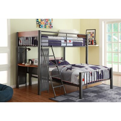 Woodhaven Hill Division Twin Over Full L Shaped Bunk Bed U0026 Reviews   Wayfair