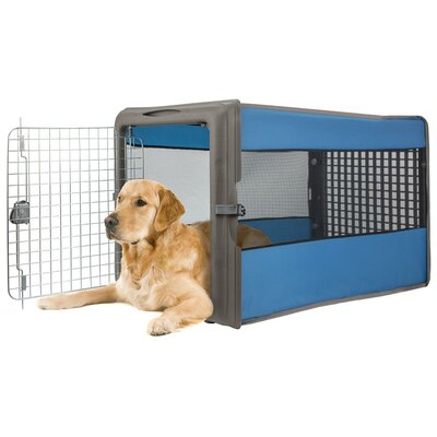 Best cat carrier - Large Pop Open Pet Crate by Sportpet