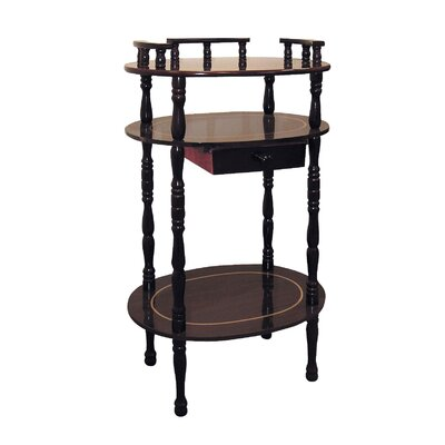 Telephone Table ore furniture multi-tiered telephone table & reviews | wayfair