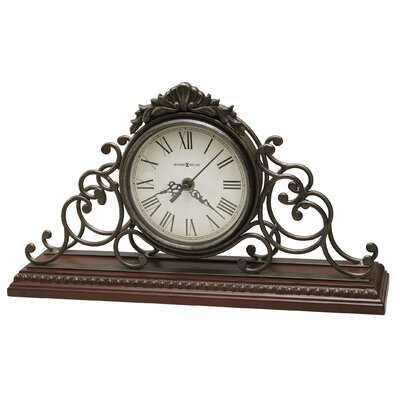 Howard Miller Adelaide Chiming Quartz Mantel Clock