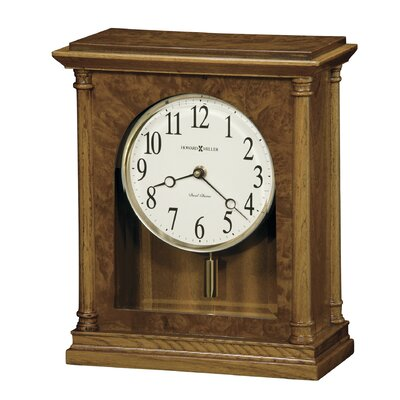Howard Miller Carly Chiming Quartz Mantel Clock