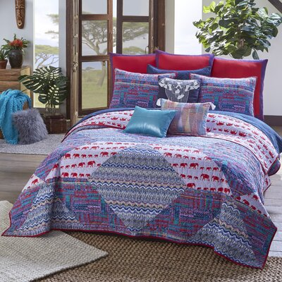Blissliving Home Tanzania Kambiya 3 Piece Quilt Set U0026 Reviews | Wayfair