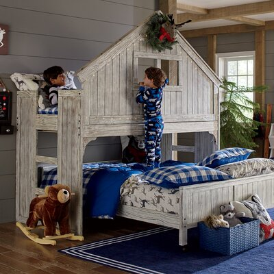 Birch Lane Kids Lake House Twin Over Full Bunk Bed