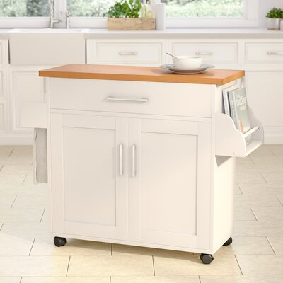 Andover Mills Terrell Kitchen Island Reviews Wayfair
