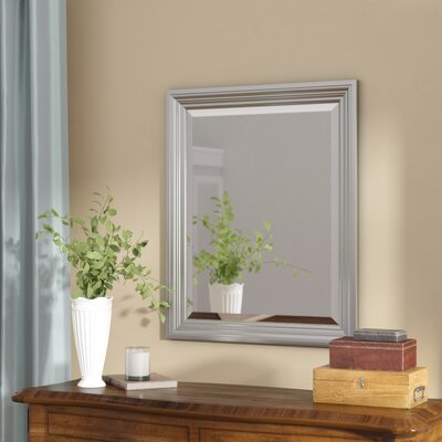 Beveled Wall Mirror darby home co rectangle plastic beveled wall mirror & reviews