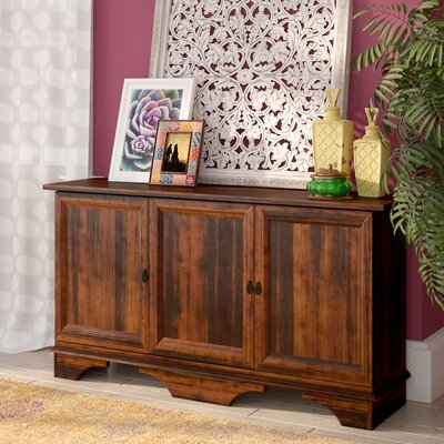 World Menagerie Reagan 3 Door Storage Accent Cabinet & Reviews ...