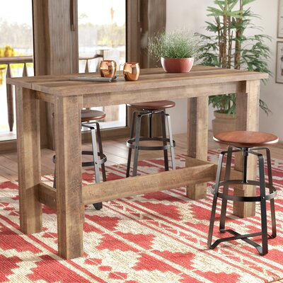 square kitchen table counter height small ideas loon peak dining
