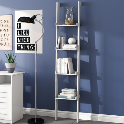 Blue Bookcase riley ave. chris bookcase & reviews | wayfair.co.uk