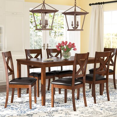 Darby Home Co Nadine 7 Piece Dining Set Reviews