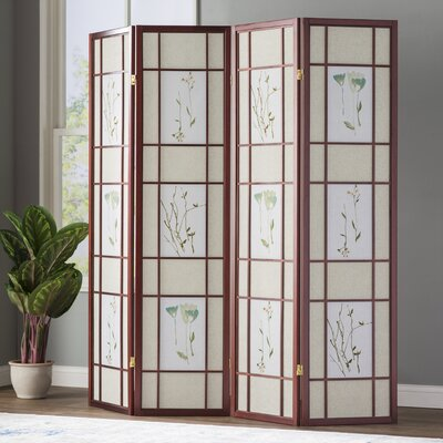 World Menagerie Reda X Gia Panel Room Divider With - 4 panel room divider