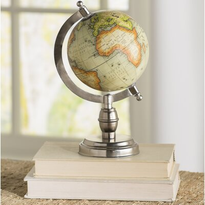 World Menagerie Sinha Small Table Top Globe With Base U0026 Reviews | Wayfair