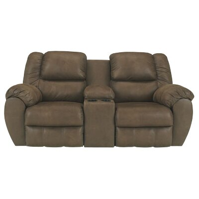 signature design by ashley weatherly double reclining sofa u0026 reviews wayfair