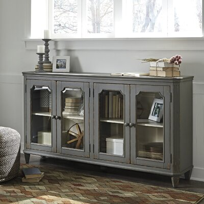Signature Design by Ashley Mirimyn Accent Cabinet & Reviews ...