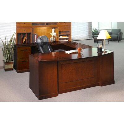 mayline sorrento series 4piece ushape desk office suite u0026 reviews wayfair