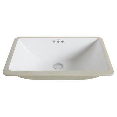 Undermount Bathroom Sink kraus elavo™ rectangular undermount bathroom sink with overflow