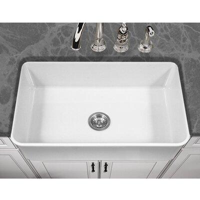 Barclay Farm Sink Undermount Houzer Platus 33 X 20 Apron Front Fire Clay  Single Kitchen Sink