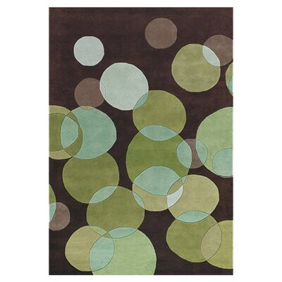 Perfect Chandra Avalisa Green/Brown Area Rug U0026 Reviews | Wayfair