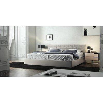 madison upholstered platform bed & reviews   allmodern