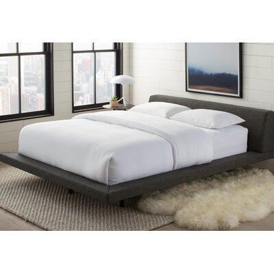 jane upholstered platform bed & reviews   allmodern
