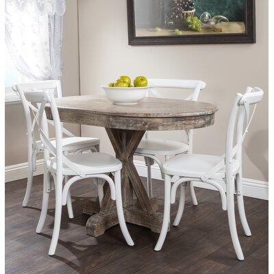 One Allium Way Pantoja Oval Dining Table & Reviews | Wayfair