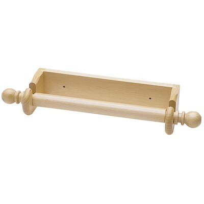 Wall Paper Towel Holder kitchen craft beech wood wall paper towel holder & reviews