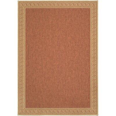 Martha Stewart Rugs Martha Stewart Byzantium Greek Key Terracotta/Beige  Indoor/Outdoor Area Rug U0026 Reviews | Wayfair