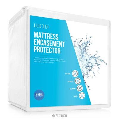lucid encasement waterproof mattress protector u0026 reviews wayfair - Mattress Encasement