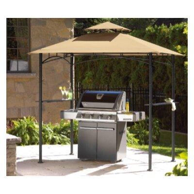 sc 1 st  Wayfair & Sunjoy Replacement Canopy for Inca Grill Gazebo u0026 Reviews | Wayfair