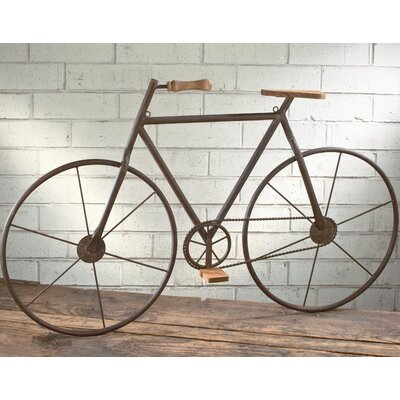 Bicycle Wall Decor tripar metal bicycle wall décor & reviews | wayfair