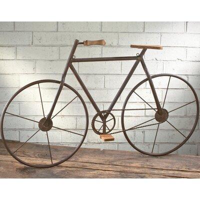 Metal Bicycle Wall Decor tripar metal bicycle wall décor & reviews | wayfair