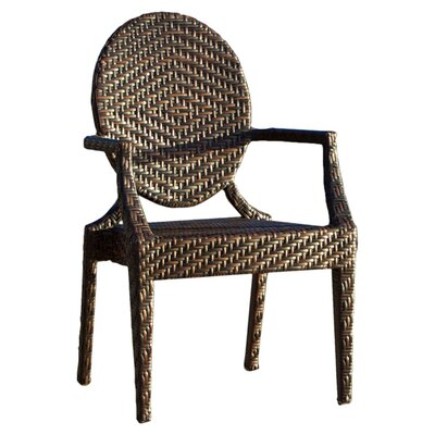 . Home Loft Concepts Giesel PE Wicker Outdoor Chair   Reviews   Wayfair